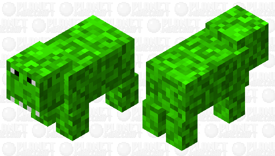 Dinosaur pig! Minecraft Skin