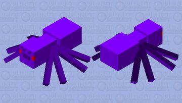 Void Spider Minecraft Mob Skin