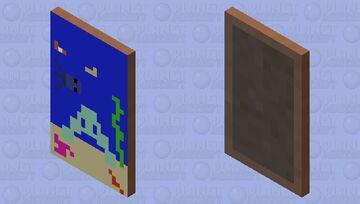 Sea cape Minecraft Mob Skin