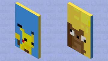 pixel cape (: Minecraft Mob Skin