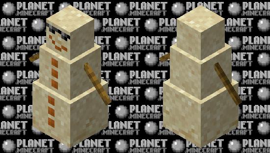 Sandman (Sand Snowman) Minecraft Skin
