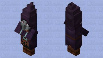 illusioner re-texturing / remade / better hat / no level Minecraft Mob Skin