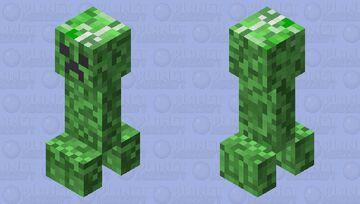 simple creeper Minecraft Mob Skin
