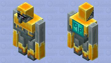 Gale knight / from MCD / DLC howling Peaks Minecraft Mob Skin