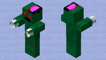 Revamped Zombie Minecraft Mob Skin