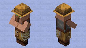 Fix fisherman fish (villager) Minecraft Mob Skin