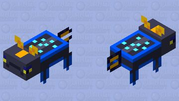 rabbitray from subnautica Minecraft Mob Skin