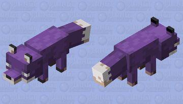 Fox purple recolor Minecraft Mob Skin