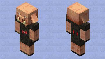 Ruby piglin Minecraft Mob Skin