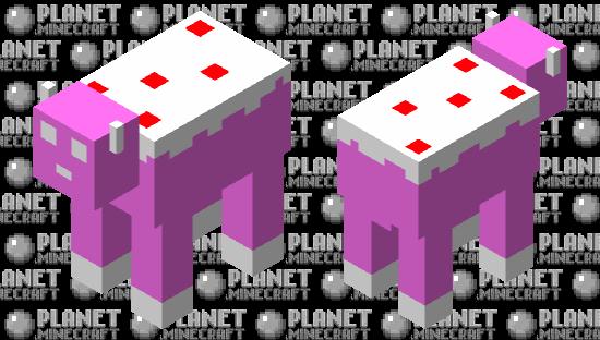 Cow (Pink Simplicity) Minecraft Skin