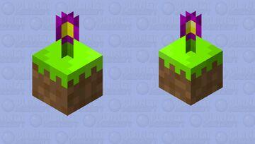 Floating Flower Minecraft Mob Skin
