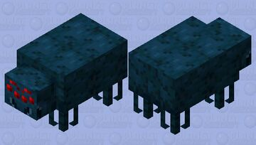 Tarantula / cave / remade Minecraft Mob Skin