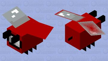 Sus Bee Minecraft Mob Skin