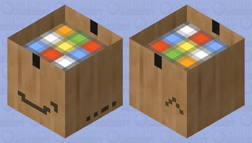 Amazon Delivery (open) Minecraft Mob Skin