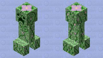 Spring-Fling Creeper! Minecraft Mob Skin
