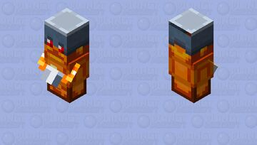 Totem of Shielding / From Minecraft Dungeons / 3D version Minecraft Mob Skin
