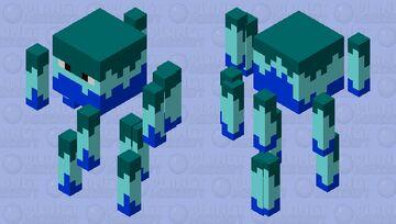 water blaze Minecraft Mob Skin