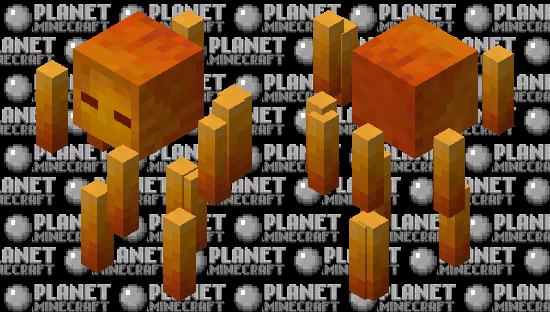 Better Blaze Minecraft Skin
