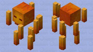 Better Blaze Minecraft Mob Skin