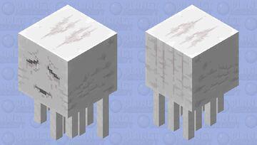 2x Bigger Ghast Minecraft Mob Skin