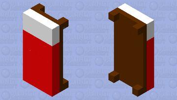 Pastel Dark Oak Wood Bed Minecraft Mob Skin