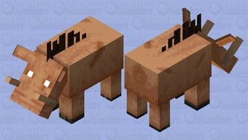 The Piglin Beast (Original Mob Design) (For FmWild57 and The minecraft 0917) Minecraft Mob Skin