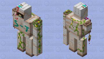 S-T: The Herobrine invasion Minecraft Mob Skin