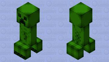 JAPPA Styled Creeper Minecraft Mob Skin