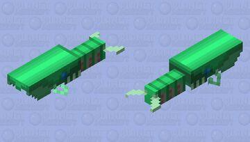 Hurdia (Cambrian) Minecraft Mob Skin