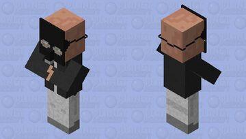 Gas mask villager Minecraft Mob Skin