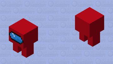 amogus Minecraft Mob Skin
