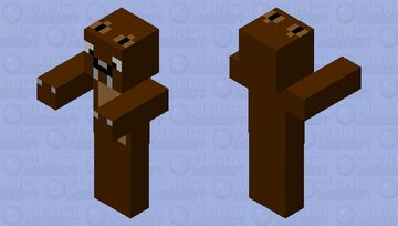 angry (very) angry bear Minecraft Mob Skin