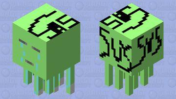 sad and sus Minecraft Mob Skin