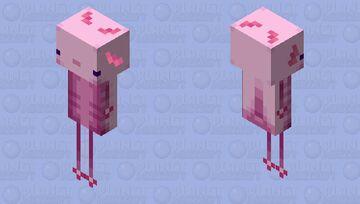 Axolotlin Minecraft Mob Skin