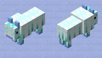 Tameble Ice Goat Minecraft Mob Skin