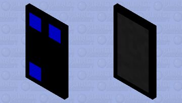The Cult of the Three Blue Dots Minecraft Mob Skin