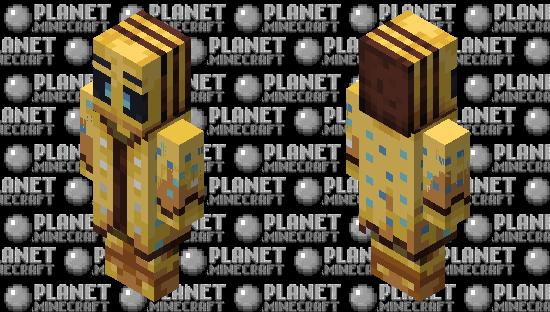 My Bee Illusioner(Re Texturing) Minecraft Skin