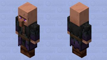 Teleportation Villager(Rework) Minecraft Mob Skin