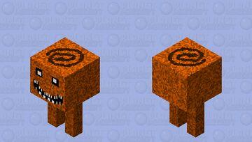 Walking Pumpkin (strider retexture) Minecraft Mob Skin