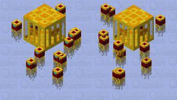 Dream Vault Guardian Hive Minecraft Mob Skin
