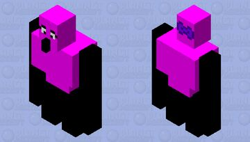 Girl Golem Minecraft Mob Skin