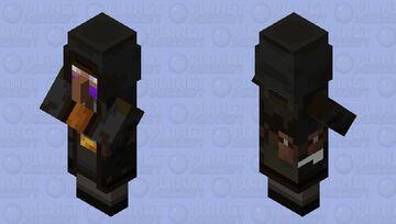 the resident evil 4 merchant Minecraft Mob Skin