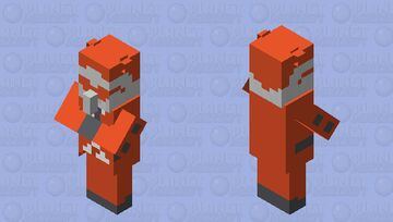 Team Flare Grunt Minecraft Mob Skin