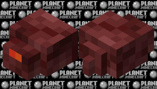 Nethermite (swap dimensions) Minecraft Skin