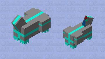 hovercraft Minecraft Mob Skin