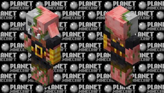 zombie piglin brute Minecraft Skin