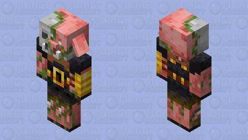 zombie piglin brute Minecraft Mob Skin