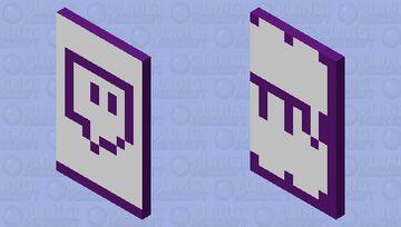 Twitch Cape Minecraft Mob Skin