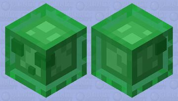 Feeling so green slime Minecraft Mob Skin