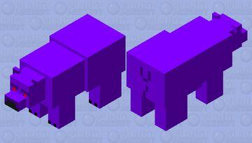 Void Bear Minecraft Mob Skin
